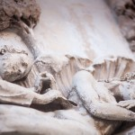 The spare rib. Bass relief on Orvieto cathedral