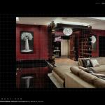 Las Vegas penthouse living room