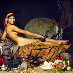 "Casalisca by Patrick Nicholas based on ""La Grande Odalisque"" by Ingres"