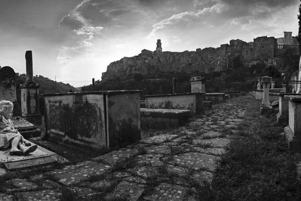 Jewish Cemetery in Pitigliano