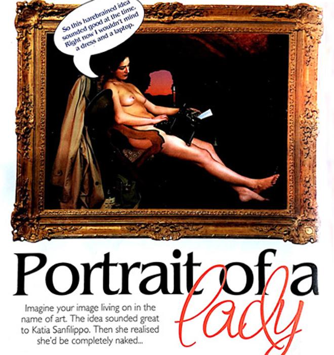 Cleo magazine, Australia: Portrait of a Lady