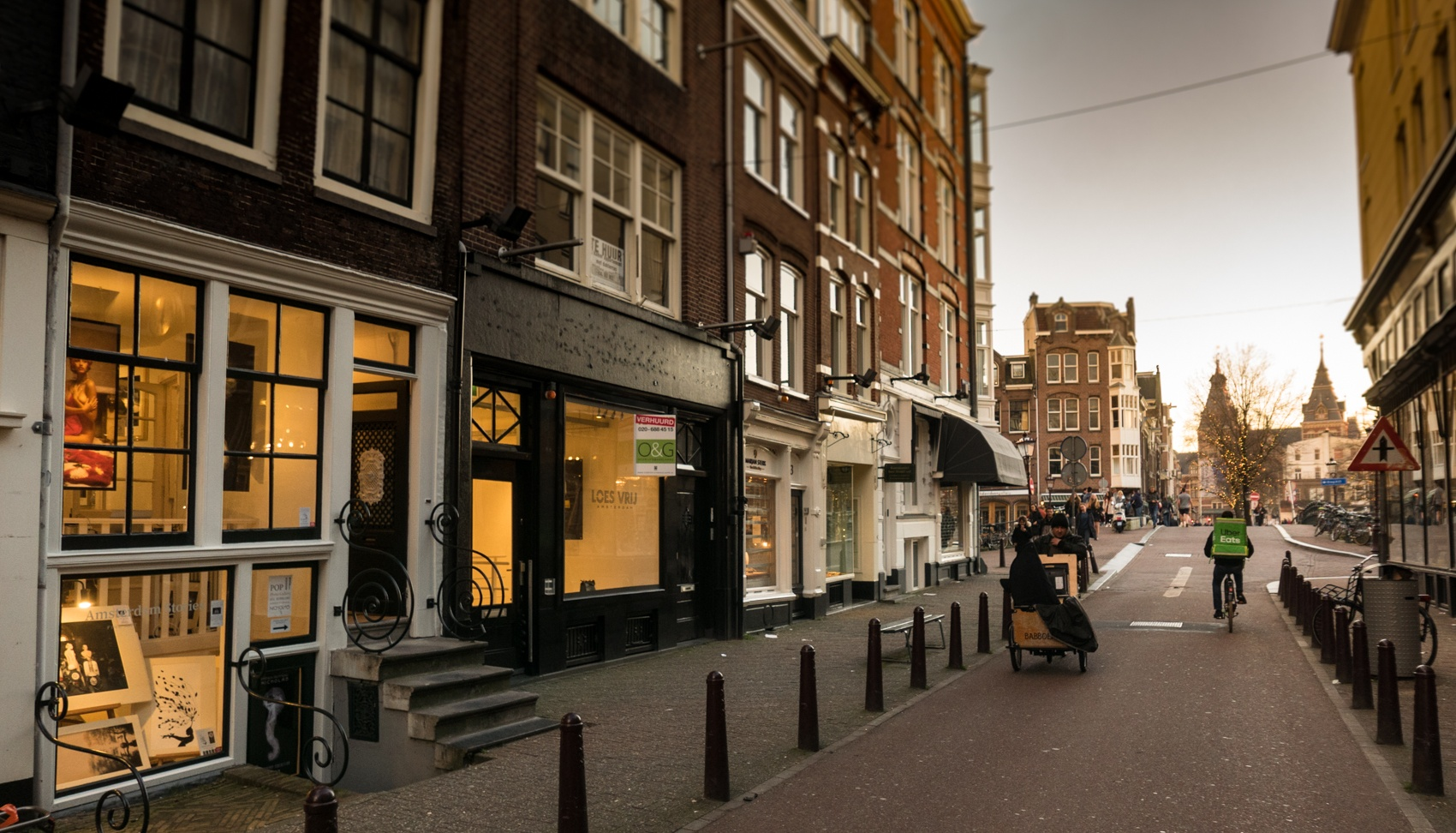 Nicholas Gallery in Spiegelstraat, Amsterdam