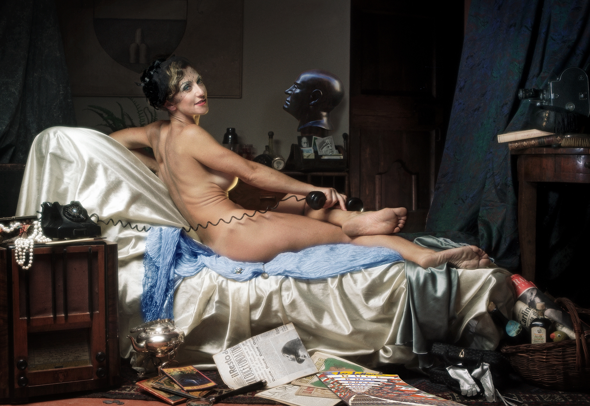Fascisca 2019 based on Ingres Grande Odalisque