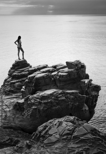 nude on cliff