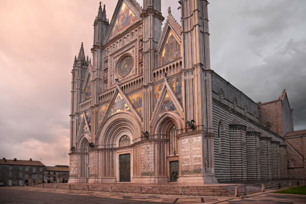 Orvieto Cathedral Dusk
