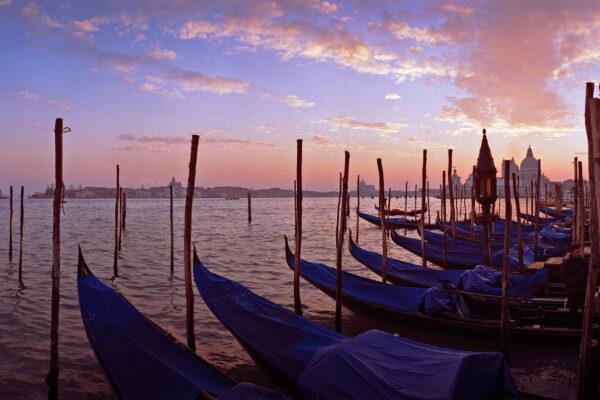 Venice – Gondolas facing St. George's Island